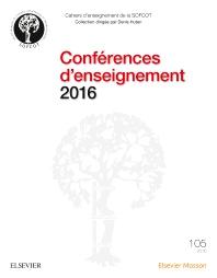 Conférences d'enseignement 2016 - 1st Edition - ISBN: 9782294752155, 9782294754494