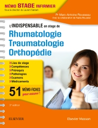 L'indispensable en STAGE de Rhumatologie - Traumatologie - Orthopédie  - 3rd Edition - ISBN: 9782294753435, 9782294754081