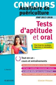 Concours auxiliaire de puériculture - Tests d'aptitude et oral - IFAP 2017-2018 - 1st Edition - ISBN: 9782294754883, 9782294755903