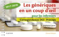 Les génériques en un coup d'oeil pour les infirmiers - 1st Edition - ISBN: 9782294756122, 9782294756740