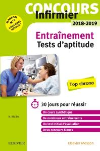Concours Infirmier 2018-2019 Tests d'aptitude Entraînement - 7th Edition - ISBN: 9782294760099, 9782294760662