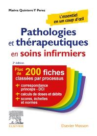 Cover image for Pathologies et thérapeutiques en soins infirmiers