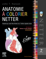 Cover image for Anatomie à colorier Netter