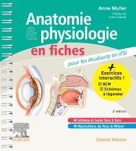 Cover image for Anatomie et physiologie en fiches pour les étudiants en IFSI