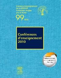 Conférences d'enseignement 2010 (n°99) - 1st Edition - ISBN: 9782810100576, 9782994100584