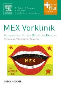 MEX Vorklinik - 1st Edition - ISBN: 9783437410949, 9783437296314
