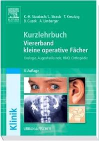 Kurzlehrbuch Viererband kleine operative Fächer - 4th Edition - ISBN: 9783437421914, 9783437167980