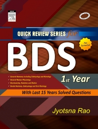 QRS for BDS I Year - 1st Edition - ISBN: 9788131221792