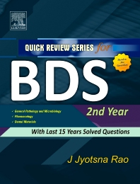 QRS for BDS II Year  - 1st Edition - ISBN: 9788131223826