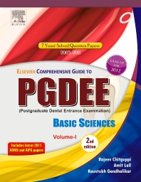 Cover image for Elsevier Comprehensive Guide to PGDEE, Basic Sciences, Vol I