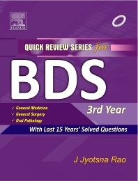 QRS for BDS III Year - 1st Edition - ISBN: 9788131225387
