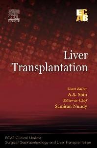 Liver Transplantation - ECAB - 1st Edition - ISBN: 9788131226896, 9788131232477