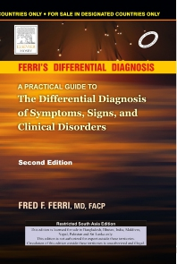 Ferri's Differentail Diagnosis - Indian Reprint - 2nd Edition - ISBN: 9788131228463