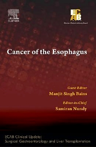 Cover image for Cancer of the Esophagus - ECAB