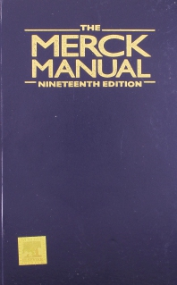 The Merck Manual of Diagnosis and Therapy - 1st Edition - ISBN: 9788131230565