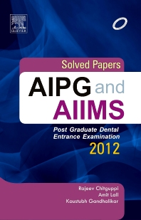 Cover image for Solved papers AIPG and AIIMS