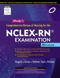 Cover image for Mosby's Comprehensive Review of Nursing for the NCLEX-RN® Examination, 20e