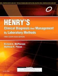 Henry's Clinical Diagnosis and Management by Laboratory Methods: First South Asia Edition - 1st Edition - ISBN: 9788131248546, 9788131246771