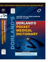 Dorland's Pocket Medical Dictionary, 29e - 1st Edition - ISBN: 9788131235010