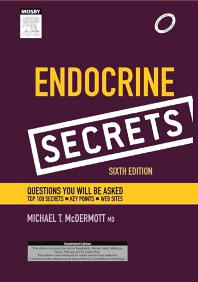 Cover image for Endocrinology Secrets, 6e