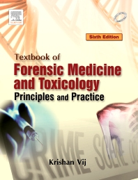 Cover image for Textbook of Forensic Medicine & Toxicology: Principles & Practice