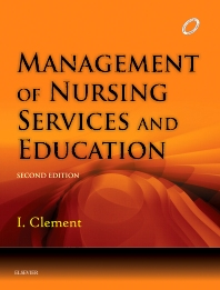 Cover image for Management of Nursing Services and Education