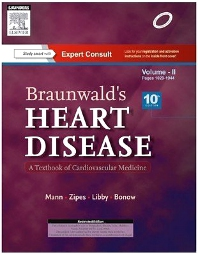 Cover image for Braunwald's Heart Disease: A Textbook of Cardiovascular Medicine, 2 Volume Set, 10e