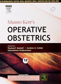Munro Kerr's Operative Obstetrics - 1st Edition - ISBN: 9788131240588