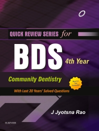 Cover image for QRS for BDS 4th Year-Community Dentistry
