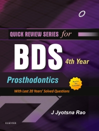 Cover image for QRS for BDS 4th Year - Prosthodontics