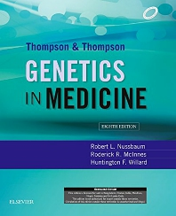 Cover image for Thompson & Thompson Genetics in Medicine, 8e