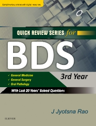 Cover image for QRS for BDS III Year