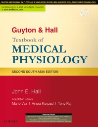 Cover image for Guyton & Hall Textbook of Medical Physiology