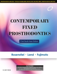 Contemporary Fixed Prosthodontics - 1st Edition - ISBN: 9788131245231