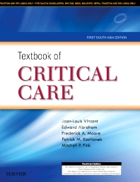 Cover image for Textbook of Critical Care: First South Asia Edition