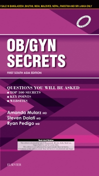 Ob/Gyn Secrets: First South Asia Edition - 1st Edition - ISBN: 9788131248959