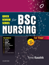 Quick Review Series For B.Sc. Nursing: 1st Year - 1st Edition - ISBN: 9788131249093, 9788131248669