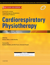 Cover image for Cardiorespiratory Physiotherapy: Adults and Paediatrics: First South Asia Edition