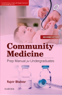 Cover image for Community Medicine: Prep Manual for Undergraduates, 2nd edition