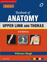 Cover image for Textbook of Anatomy  Upper Limb and Thorax; Volume 1