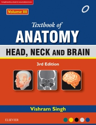Cover image for Textbook of Anatomy Head, Neck, and Brain; Volume III