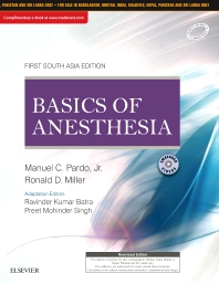 Basics of Anesthesia: First South Asia Edition - 1st Edition - ISBN: 9788131253014, 9788131253021