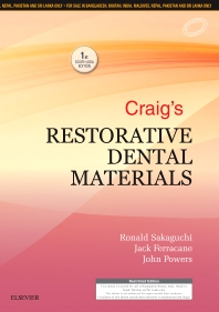 Craig's Restorative Dental Materials: First South Asia Edition  - 1st Edition - ISBN: 9788131255070