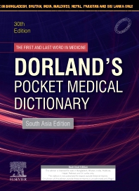 Dorland's Pocket Medical Dictionary, 30 edition - South Asia Edition - 1st Edition - ISBN: 9788131256886