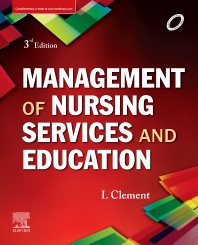 Management of Nursing Services and Education - 3rd Edition - ISBN: 9788131257074