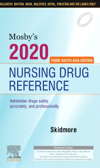 Mosby's 2020 Nursing Drug Reference:Third South Asia Edition - 3rd Edition - ISBN: 9788131258125