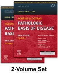 Cover image for Robbins & Cotran Pathologic Basis of Disease, 10e: South Asia Edition, 2 Vol SET