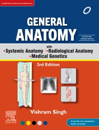 General Anatomy with Systemic Anatomy, Radiological Anatomy, Medical Genetics, 3rd Updated Edition - 3rd Edition - ISBN: 9788131262436, 9788131262443
