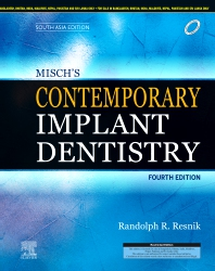 Misch's Contemporary Implant Dentistry, 4e: South Asia Edition - 4th Edition - ISBN: 9788131262832
