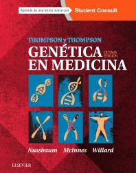Cover image for Thompson & Thompson. Genética en Medicina + StudentConsult